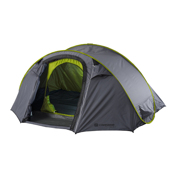 7078.jpg  sc 1 st  Wild Earth & Caribee Get Up 2 Man Instant Pop-Up Camping Tent