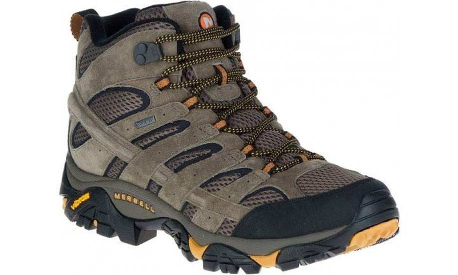 6b22c530 Merrell Moab 2 LTR Mid GTX Gore-Tex Waterproof Hiking Boots - Walnut Mens