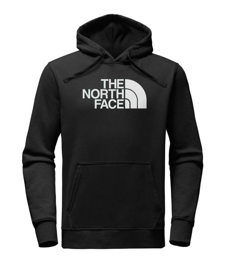 The North Face Mens Hoodie Pullover Sweatshirt Half Dome Fleece Lined Jacket New