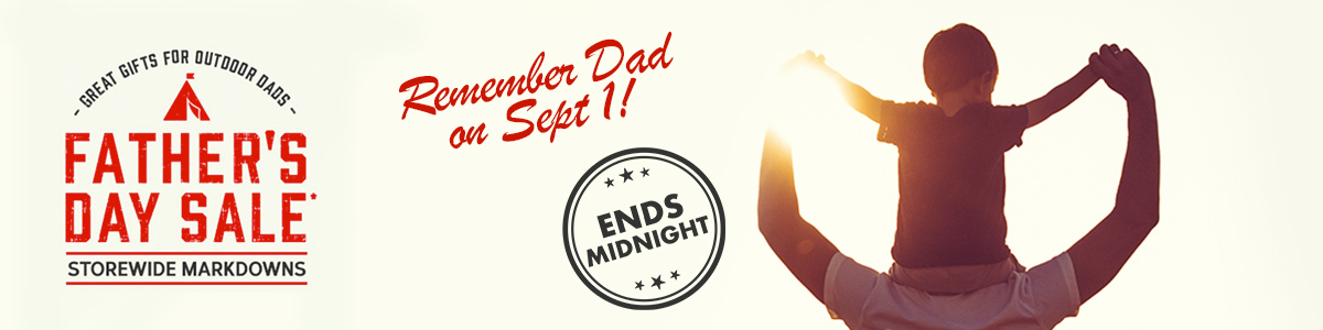 Father's Day Sale Ends Midnight. Shop Now.