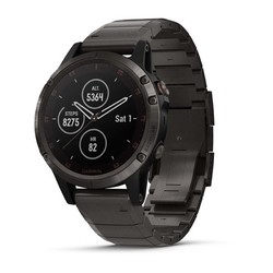 Garmin Fenix 5 Plus Sapphire GPS Watch - Carbon Gray