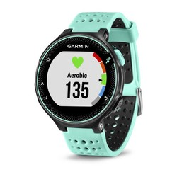 Garmin Forerunner 235 GPS Watch - Frost Blue/Black Silicone