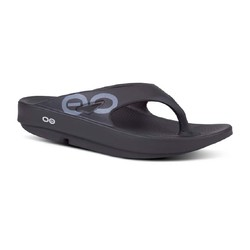 Oofos Ooriginal Sport Recovery Thongs - Black
