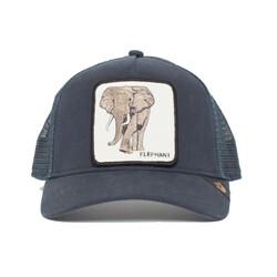 9cf22eaa6a7e56 Goorin Bros Elephant 5 Panel Trucker Baseball Cap - Navy