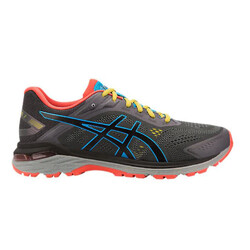 Asics GT-2000 7 Mens Trail Running Shoes - Dark Grey/Black