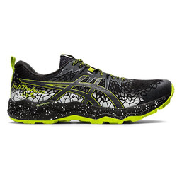 Asics FujiTrabuco Lyte Mens Trail Running Shoes - Black/Graphite Grey