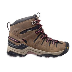 KEEN Gypsum Mid Waterproof Women's Hiking Boots - Olive / Rose