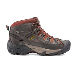 Keen Targhee II Mid Waterproof Mens Hiking Boots - Raven/Tortoise Sheel