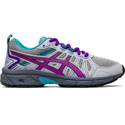Asics Gel-Venture 7 GS Kids Running Shoes - Piedmont Grey/Orchid
