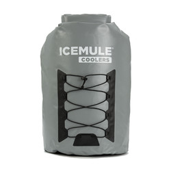 IceMule Pro 30L XLarge Waterproof Backpack Cooler Bag - Grey