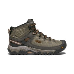 Keen Targhee III Mid Mens Waterproof Boot - Black Olive Golden Brown