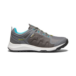 Keen Explore Womens Waterproof Hiking Shoes - Steel Grey/Bright Turquoise