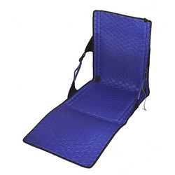 Crazy Creek Hex 2.0 Powerlounger Lightweight Packable Hiking Chair and Mat - Black/Royal