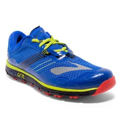Brooks Pure Grit 5 Mens Trail Running Shoes - Blue/Blk/Lime