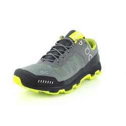 On Cloudventure Mens Trail Running Shoes - Grey/Sulphur