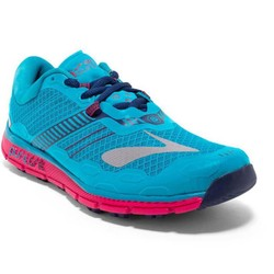 Brooks Pure Grit 5 Womens Trail Running Shoes - Blue/Virtual Pink