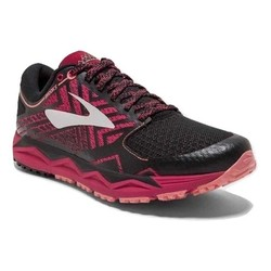 Brooks Caldera 2 Womens Trail Running Shoes - Pink/Black/Coral