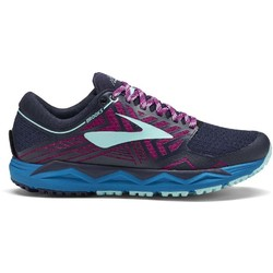 Brooks Caldera 2 Womens Trail Running Shoes -  Navy/Plum/Ice Blue