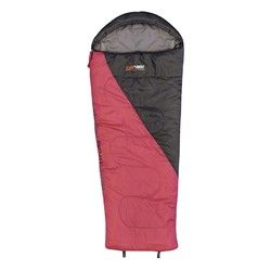 Black Wolf Star 300 Kids Sleeping Bag - Pink/Charcoal