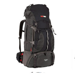 Black Wolf Bugaboo 60+10L Hiking Rucksack - BLACK