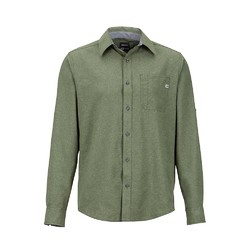 Marmot Windshear Long Sleeve Mens Shirt - Crocodile