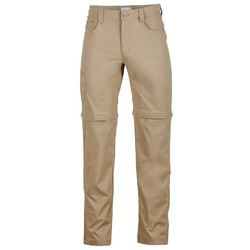 Marmot Transcend Mens Convertible Pants - Light Khaki