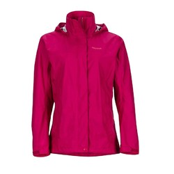 Marmot PreCip Womens Waterproof Jacket - Sangria