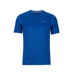 Marmot Conveyor Short Sleeve Mens Tee - Dark Cerulean Heather