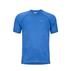 Marmot Accelerate Short Sleeve Mens Shirt - Surf Heather