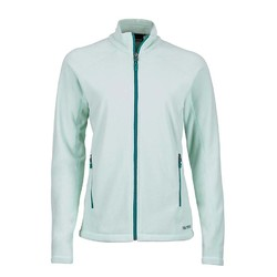 Marmot Rocklin Womens Full Zip Fleece Jacket - Clear Sky