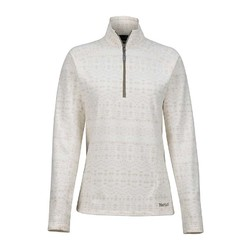 Marmot Rocklin Womens 1/2 Zip Fleece Jacket - Oatmeal Sunfall