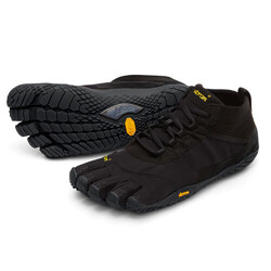 Vibram V-Trek Mens Trekking Shoes - Black