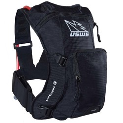USWE 18 Airborne 3 Pack 1.5L / 2.0L Shape Shift Hydration Pack - Carbon Black