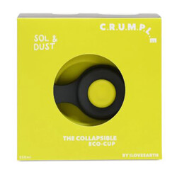 Crumple Sol and Dust Collapsible Reusable Eco Cup - 350ml