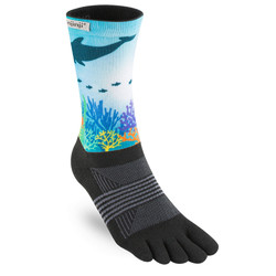 Injinji TRAIL 2.0 Midweight Crew Womens Socks - Reef