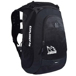 USWE 18 Explorer 26 Pack Hydration Compatible Adventure Pack- Raven Black