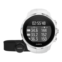 Suunto Spartan Sport HR GPS Multisport Watch with Heartrate Monitor -White