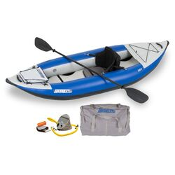 Sea Eagle 300x Explorer Inflatable Kayak 300XKP Deluxe Package