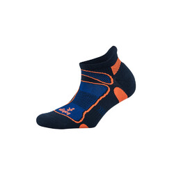 Balega Ultra Light No Show Unisex Running Socks - Ink/Cobalt