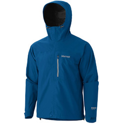 Marmot Minimalist Mens Goretex Waterproof  Rain Jacket Blue