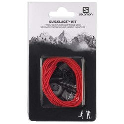 Salomon Quicklace Kit Replacement Laces - Red
