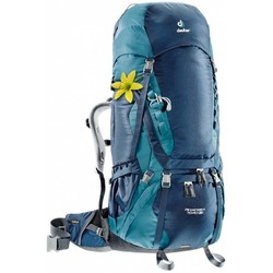 Deuter Aircontact 70 + 10SL Womens Hiking Rucksack - Mid/Denim