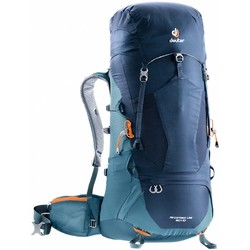 Deuter Aircontact Lite 50+10L Hiking Backpack - Navy-Arctic