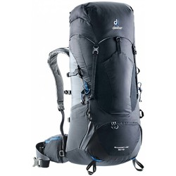 Deuter Aircontact Lite 50+10L Hiking Backpack - Blk-Graphite