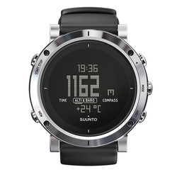 Suunto Core Outdoor Heartrate Monitor Watch  - Brushed Steel