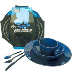 360 Degrees Camp Dinner Plate Set