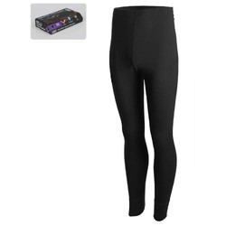 360 Degrees Adults Thermal Bottom - Black