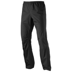 Salomon Bonatti Mens Lightweight Waterproof Pant - Black