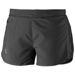 Salomon Agile Womens Running Shorts - Black