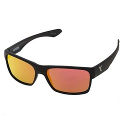 Venture Eyewear Trail Polarised Sunglasses - Black Combo/Red Revo